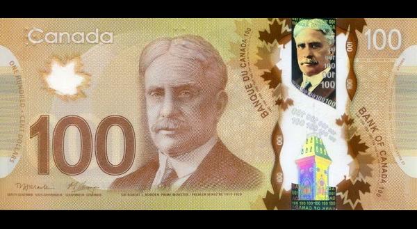 Cédula De Dólar Canadense